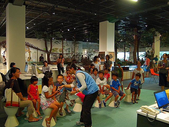 化石タッチングコーナー/姫路科学館 アトムの館(兵庫県/姫路市)