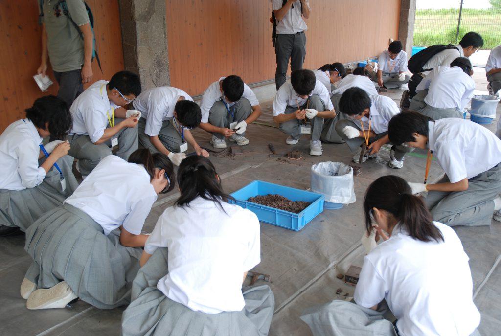 化石発掘体験セミナー/兵庫県立人と自然の博物館(兵庫県/三田市)