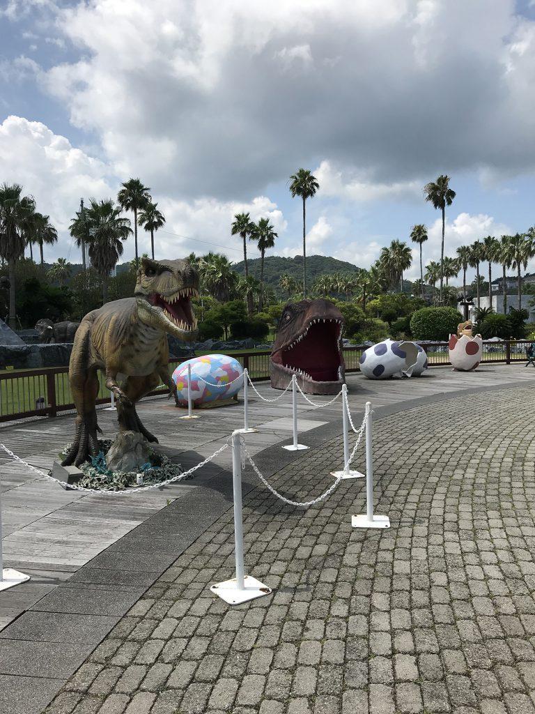 ティラノサウルスの復元模型/淡路ワールドパーク ONOKORO(兵庫県/淡路市)