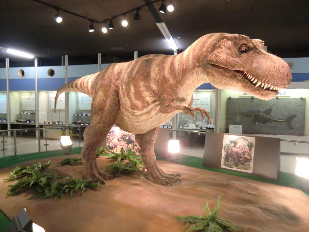 ティラノサウルスの復元模型/京都市青少年科学センター(京都市/伏見区)