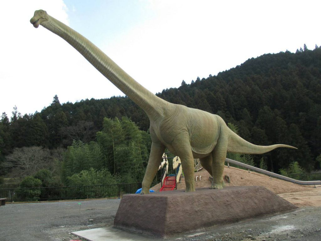 丹波竜の復元模型/丹波竜の里公園(兵庫県/丹波市)