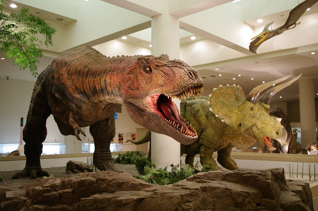 ティラノサウルスやトリケラトプス/愛媛県総合科学博物館(愛媛県/新居浜市)