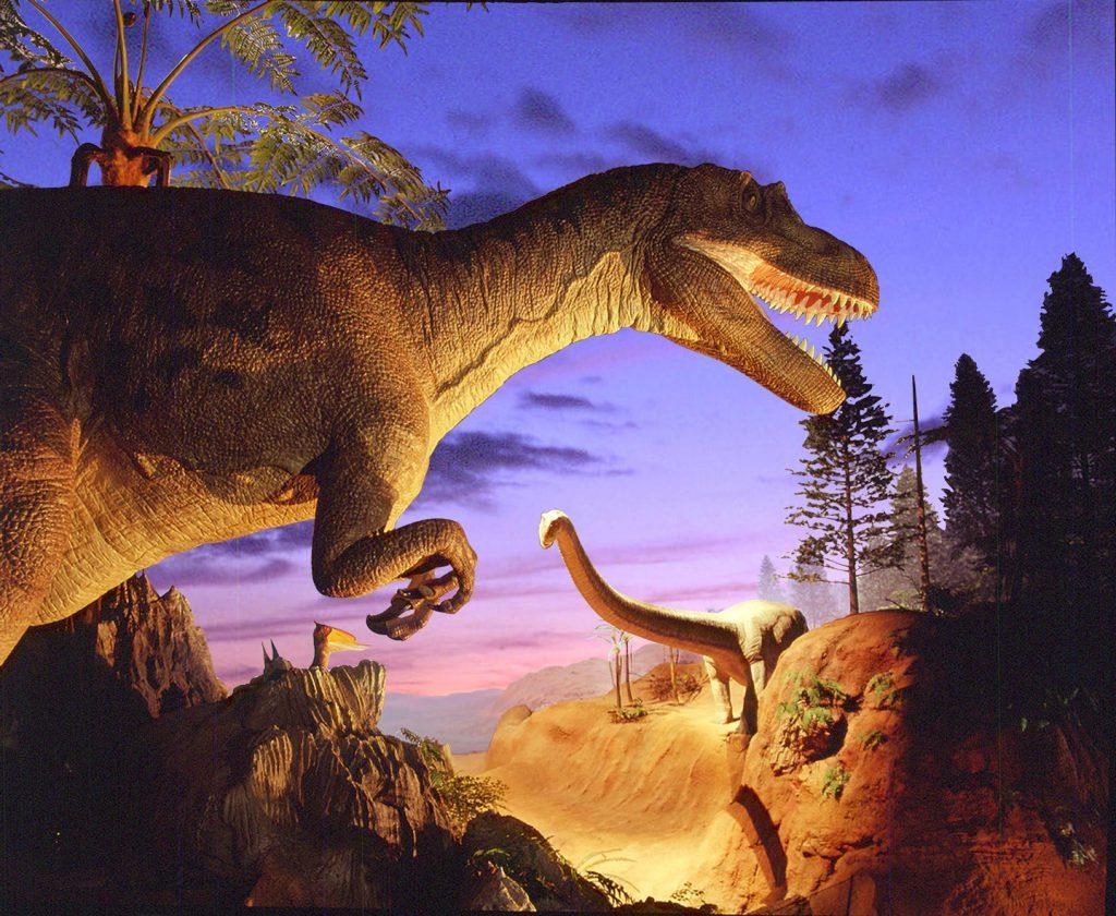 動く恐竜ロボット/北九州市立自然史・歴史博物館(いのちのたび博物館)(福岡県/北九州市)