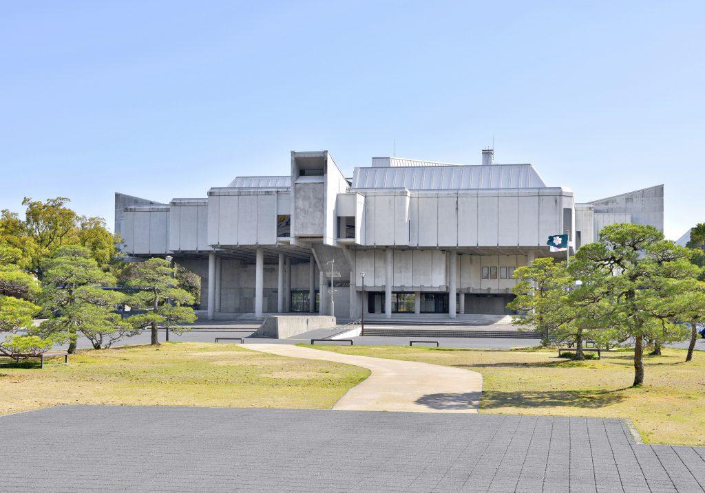 佐賀県立博物館の外観(佐賀県/佐賀市)