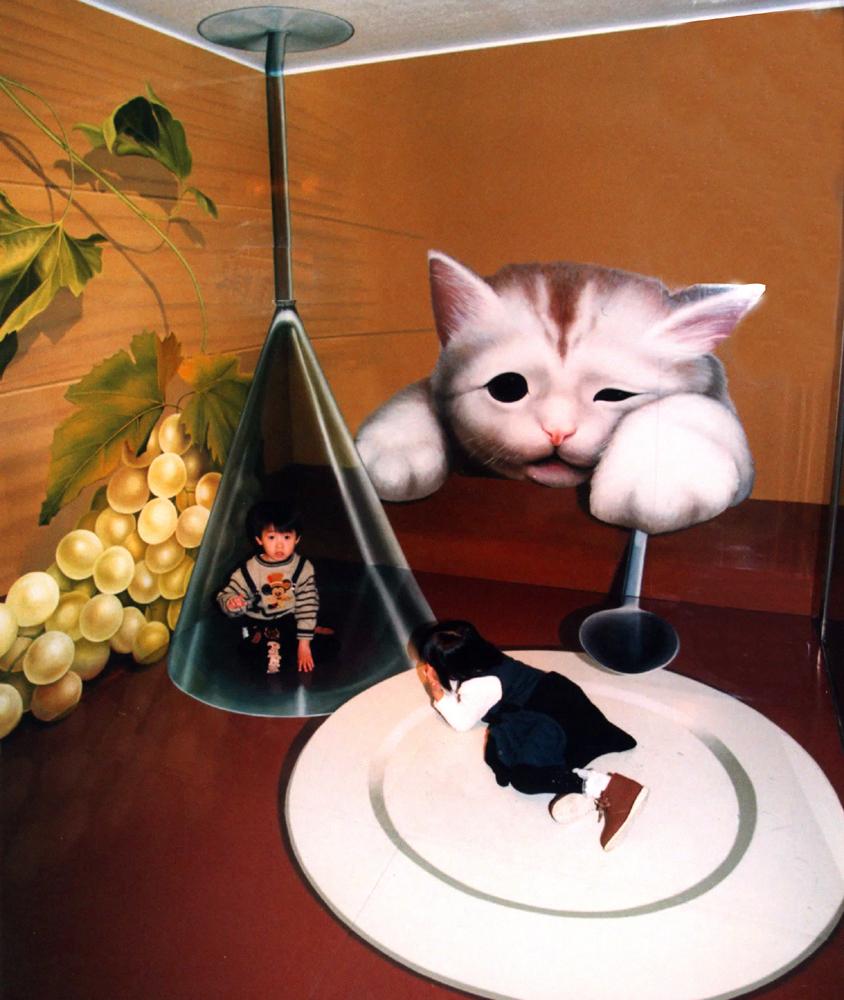 「猫の食卓」/那須とりっくあーとぴあ(栃木県/那須町)