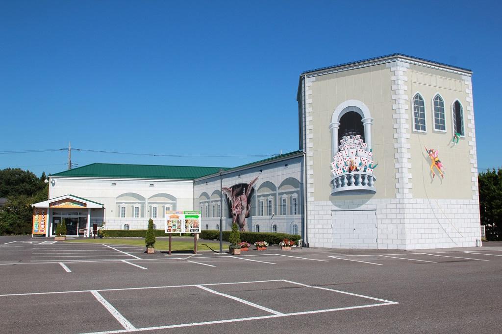 「トリックアート迷宮?館」外観/那須とりっくあーとぴあ(栃木県/那須町)