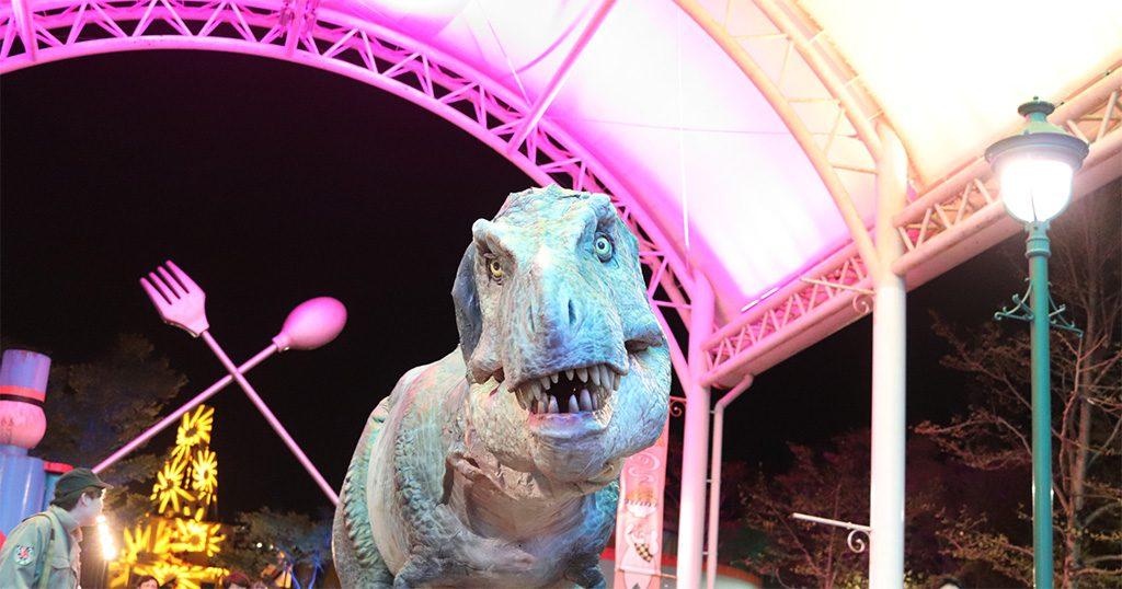 ティラノサウルスのリアル恐竜体験/那須ハイランドパーク(栃木県)