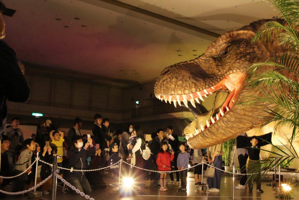 ティラノサウルスほか恐竜の展示/広島県立広島産業会館 西展示館(広島県)