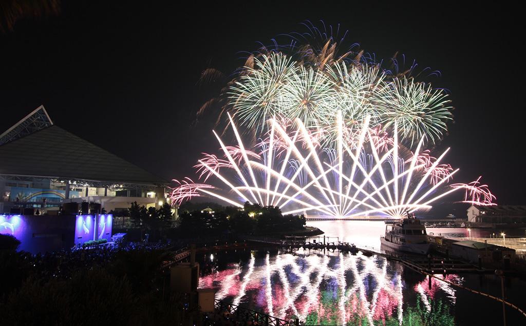 花火シンフォニア/横浜・八景島シーパラダイス(神奈川県/横浜市)