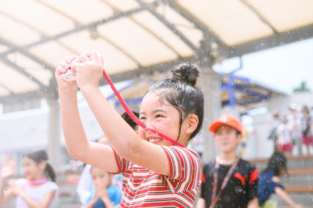想像以上のずぶ濡れでもOKの「クールピクス W150」/横浜・八景島シーパラダイス(神奈川県/横浜市金沢区)