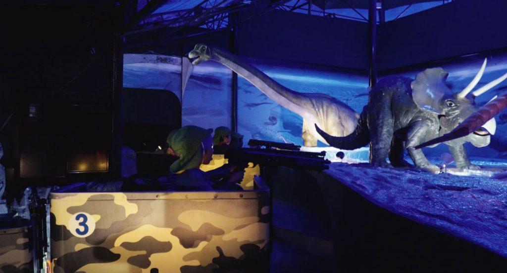 恐竜の世界を冒険できるアトラクション/恵那峡ワンダーランド(岐阜県/中津川市)
