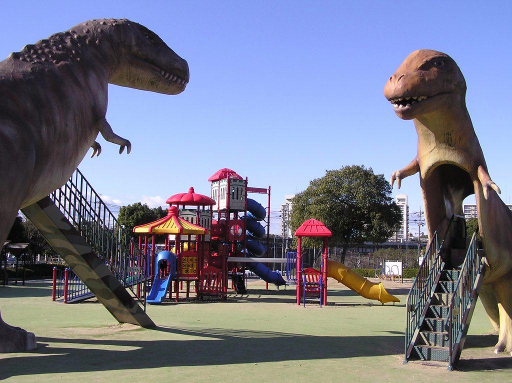 恐竜広場/県営 大高緑地(恐竜広場)(愛知県/名古屋市)