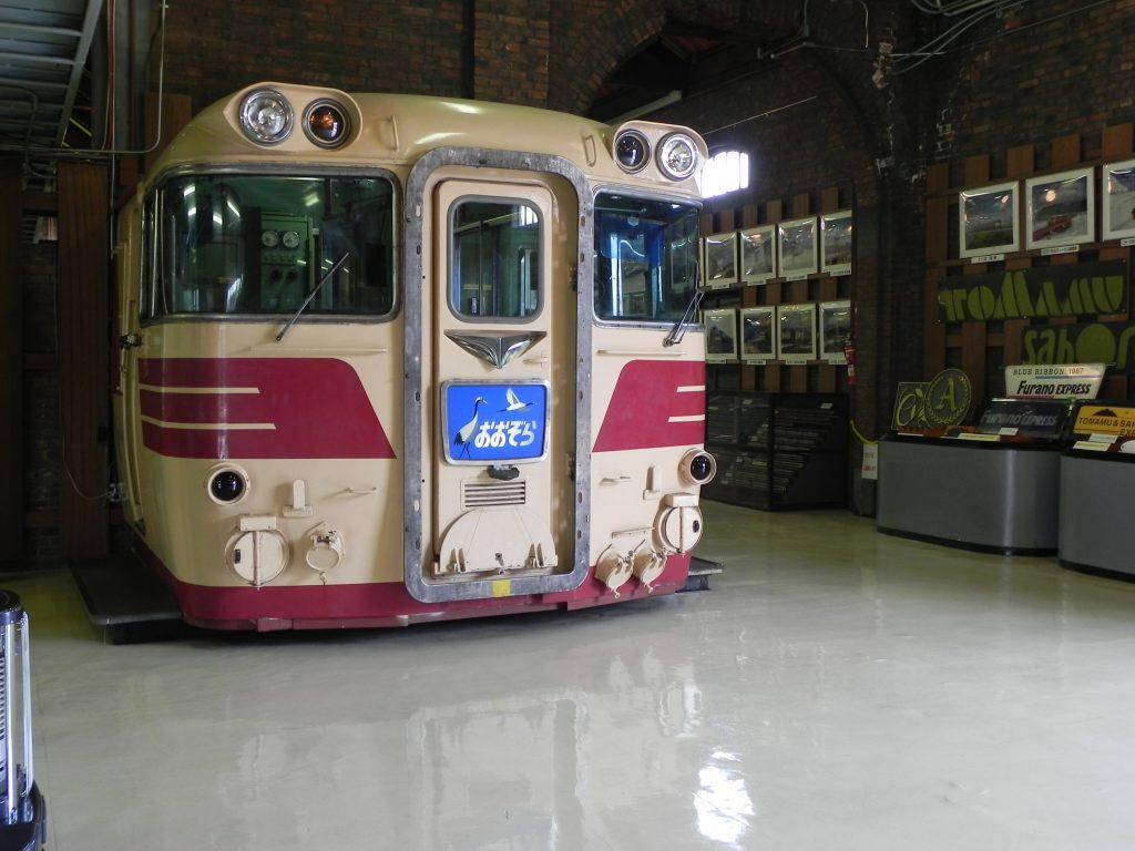 運転操作ができるキハ82/北海道鉄道技術館(北海道/札幌市)