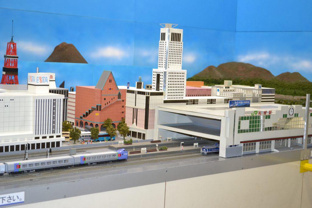 ジオラマ走るHOゲージ/北海道鉄道技術館(北海道/札幌市)