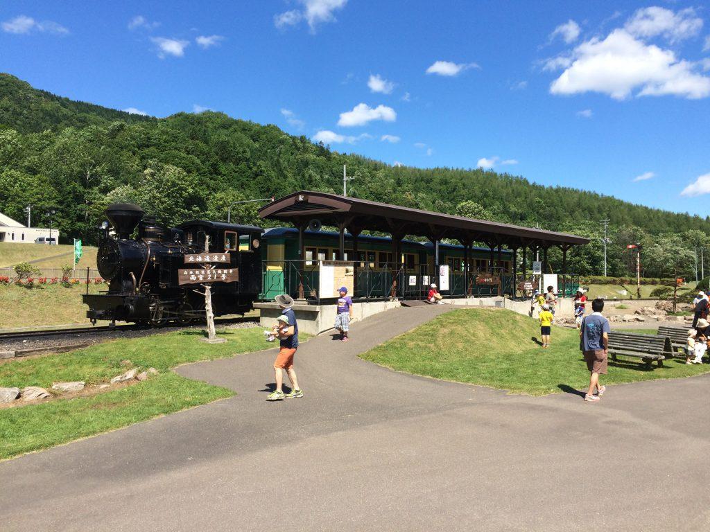 森林鉄道蒸気機関車 雨宮21号/丸瀬布森林公園いこいの森(北海道/遠軽町)