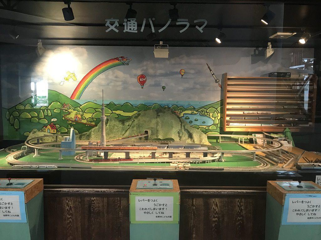 操縦できる模型電車/佐野市こどもの国(栃木県/佐野市)