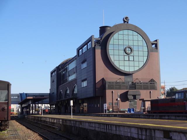 真岡駅/SLキューロク館(栃木県/真岡市)