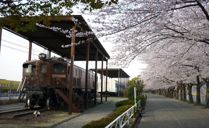 電気機関車(EF15・EF120号機)/新幹線公園(大阪府/摂津市)