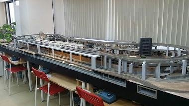 鉄道ジオラマの様子2/エルマートレイン江坂店(大阪府/吹田市)