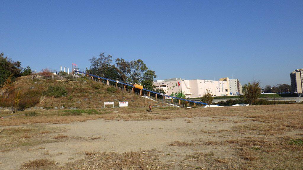 全長70mもあるローラーすべり台/彩都西公園(大阪府/茨木市)