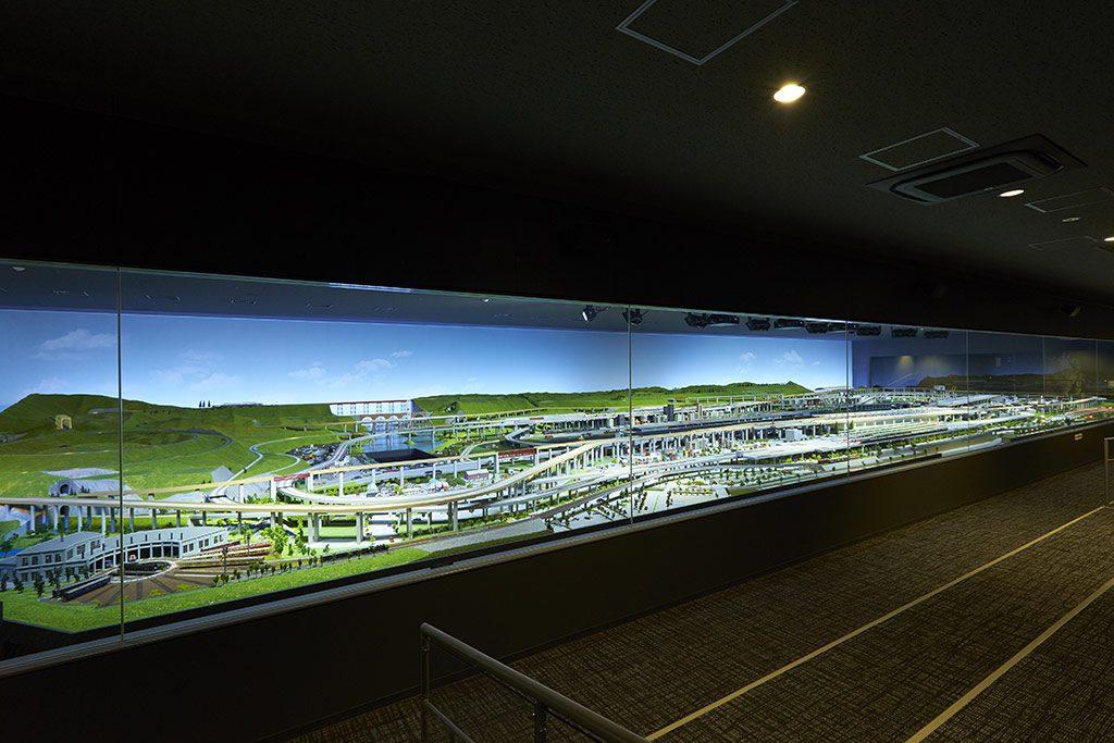 国内最大級のジオラマを走る鉄道模型/京都鉄道博物館(京都市)