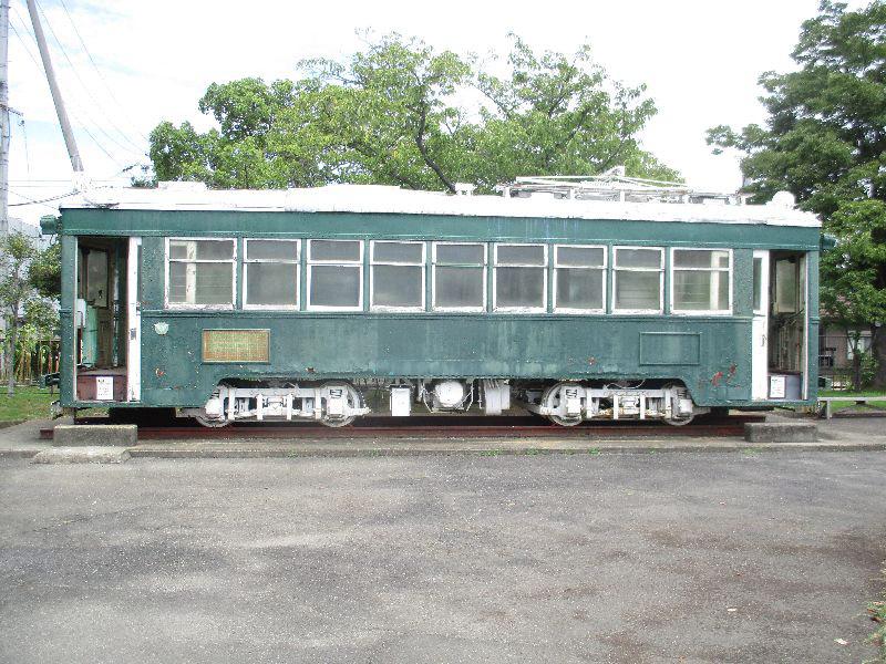 旧南海軌道線車両/和歌山交通公園(和歌山市)