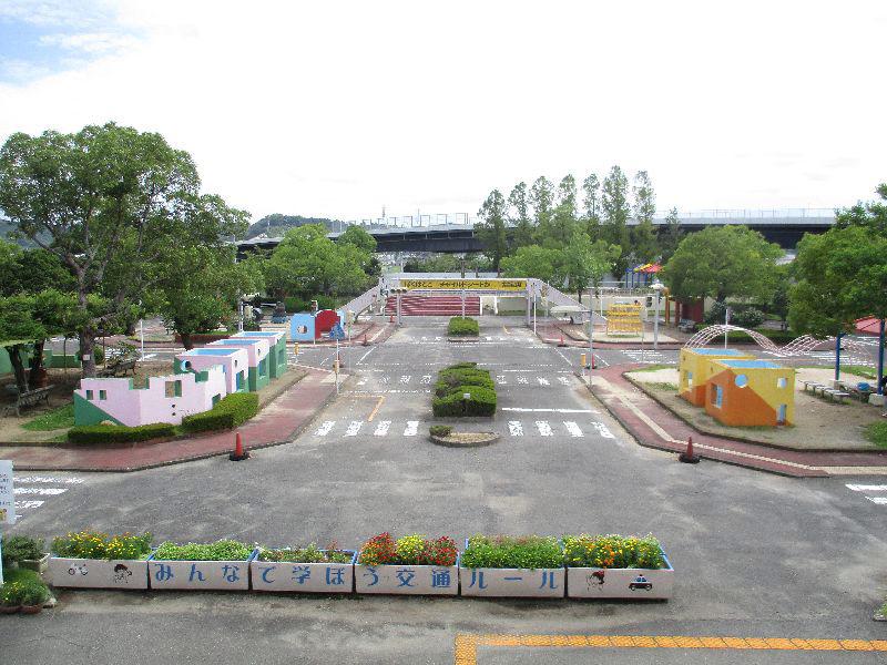 交通ルールを学べる交通公園/和歌山交通公園(和歌山市)