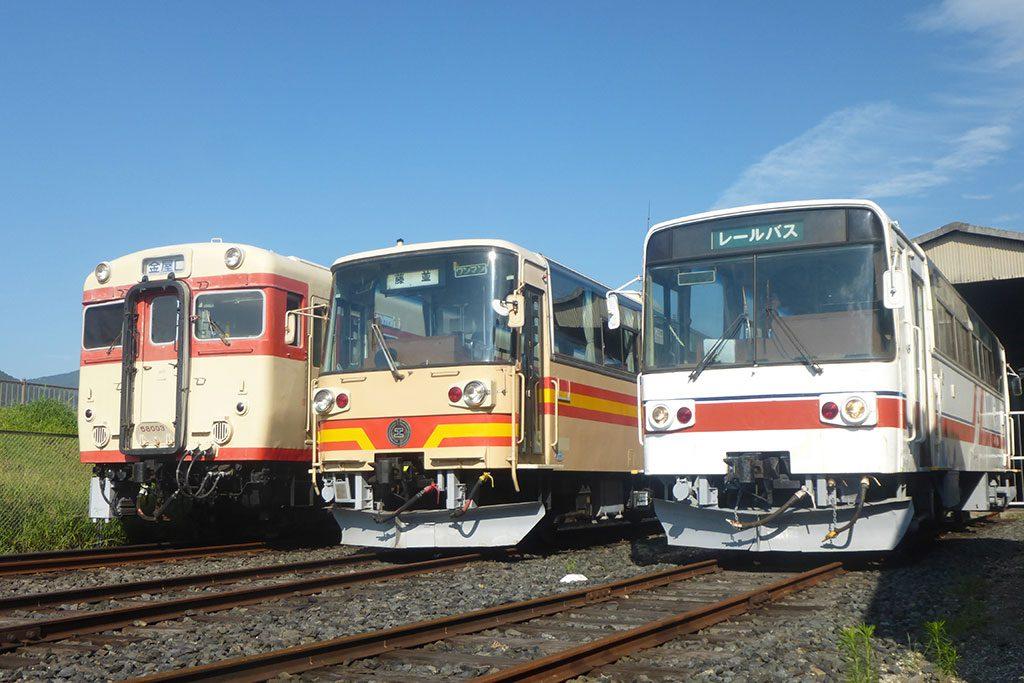 車両展示/有田川鉄道公園・有田川町鉄道交流館(和歌山県)