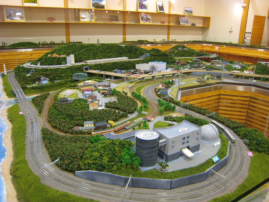ジオラマ模型/有田川鉄道公園・有田川町鉄道交流館(和歌山県)