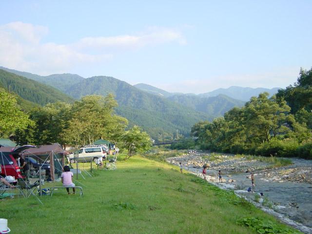 利賀国際キャンプ場(富山県/南砺市)