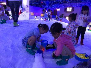 雨でもOKの室内遊園地「東京あそびマーレ」は、全身で遊べる遊具がいっぱい!