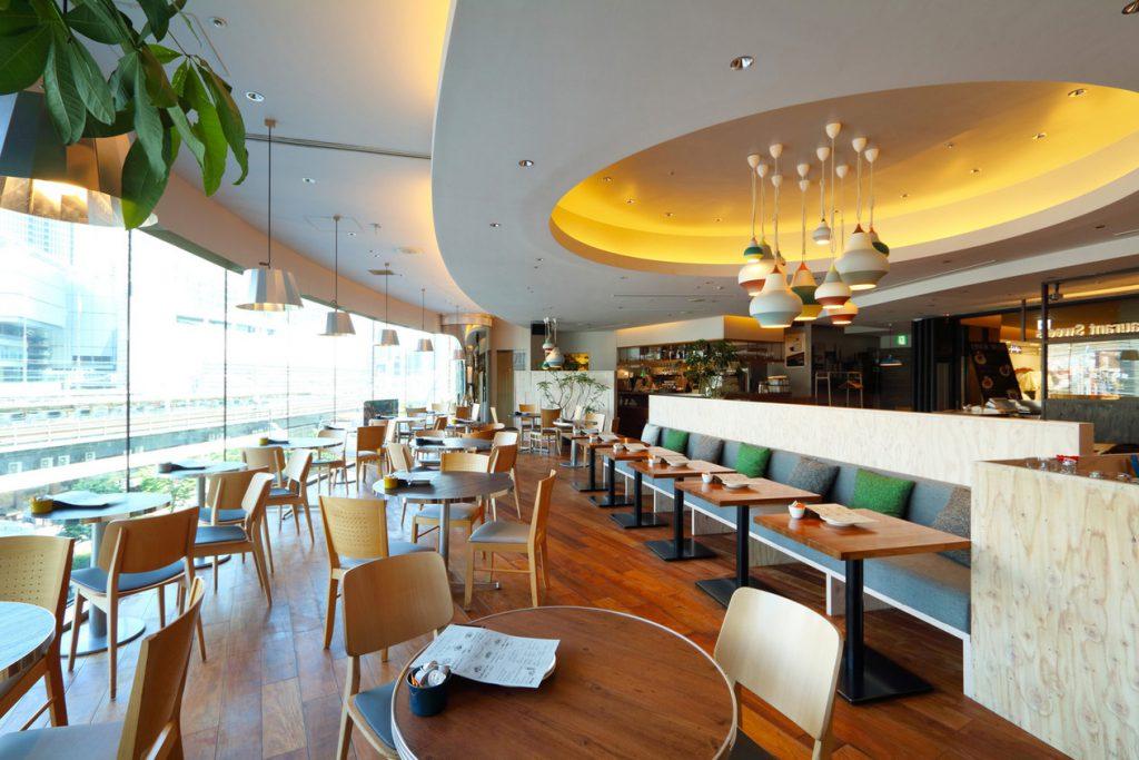 Café Restaurant Skewの内観(東京都/千代田区)