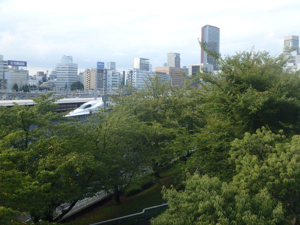至近距離から新幹線が見られる/芝浦中央公園(東京都/港区)