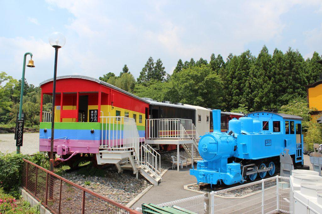 キッズプレイパーク外観/SLランドミュージアム(栃木県/那須町)