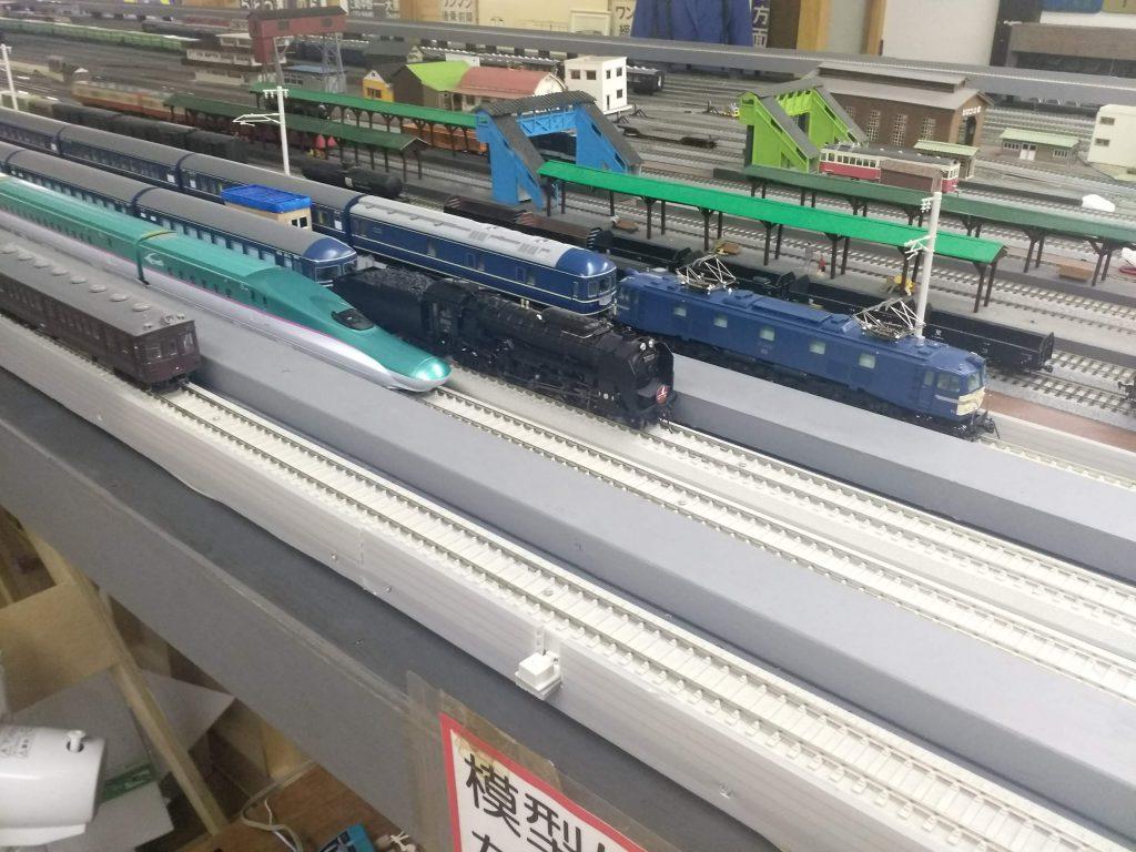 HOゲージのジオラマ/房総中央鉄道館(千葉県/大多喜町)