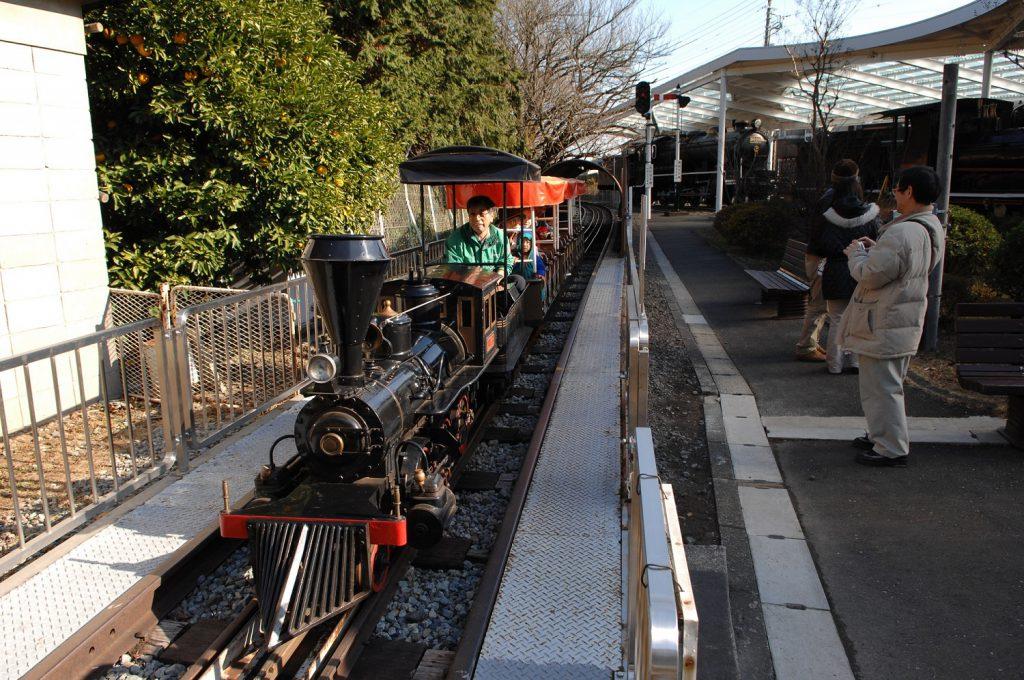 ミニSL弁慶号[べんけいごう]/青梅鉄道公園(東京都/青梅市)