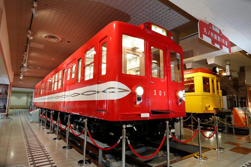「301号車」の車両展示/地下鉄博物館(東京都/江戸川区)