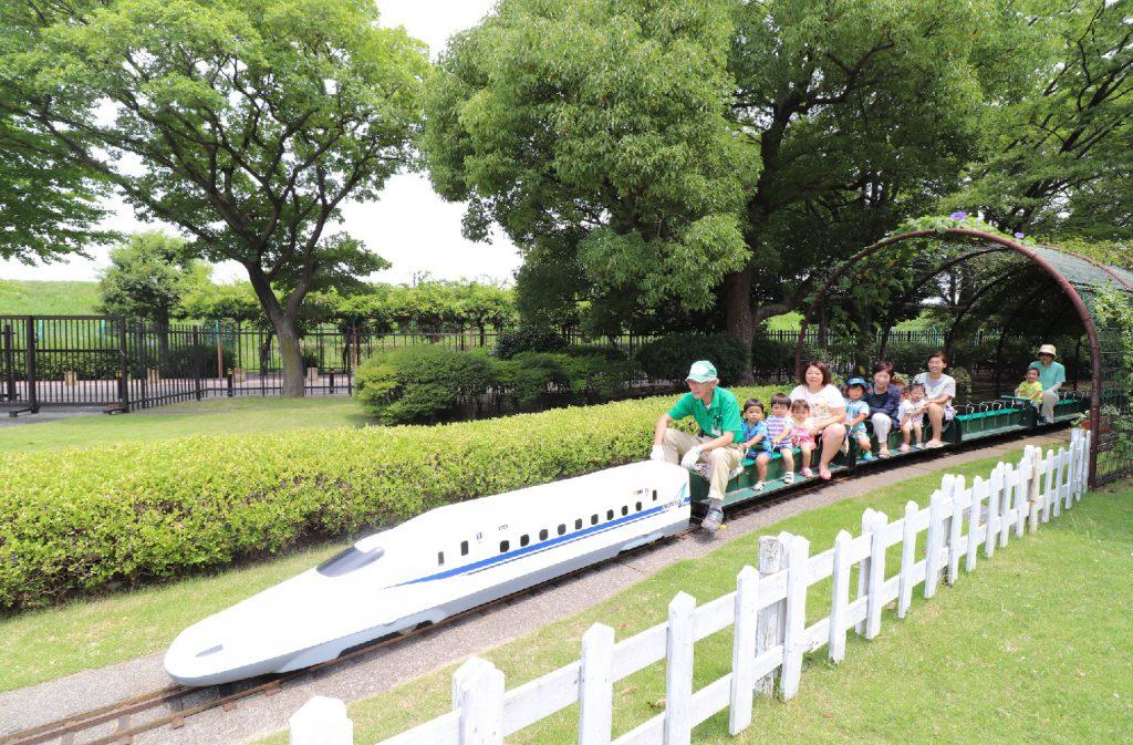 新幹線N700A型ミニ列車/大谷田南公園(東京都/足立区)