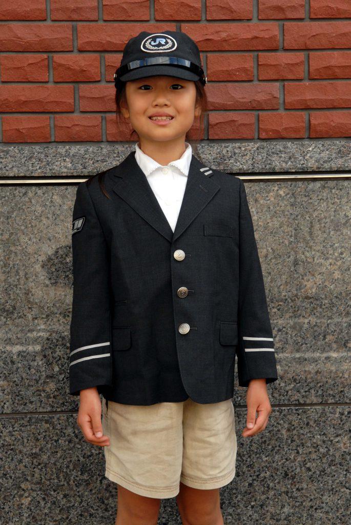 JR貨物機関士の制服試着体験/物流博物館(東京都/港区)