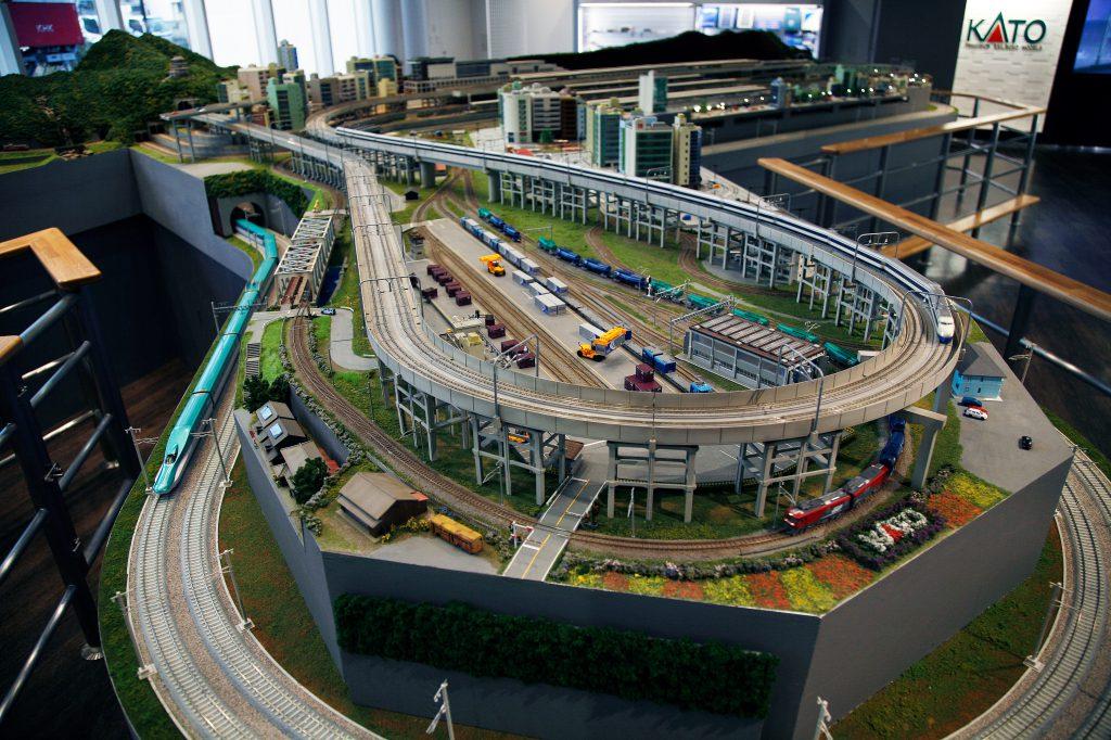 巨大な鉄道模型レイアウト/ホビーセンターカトー東京(東京都/新宿区)