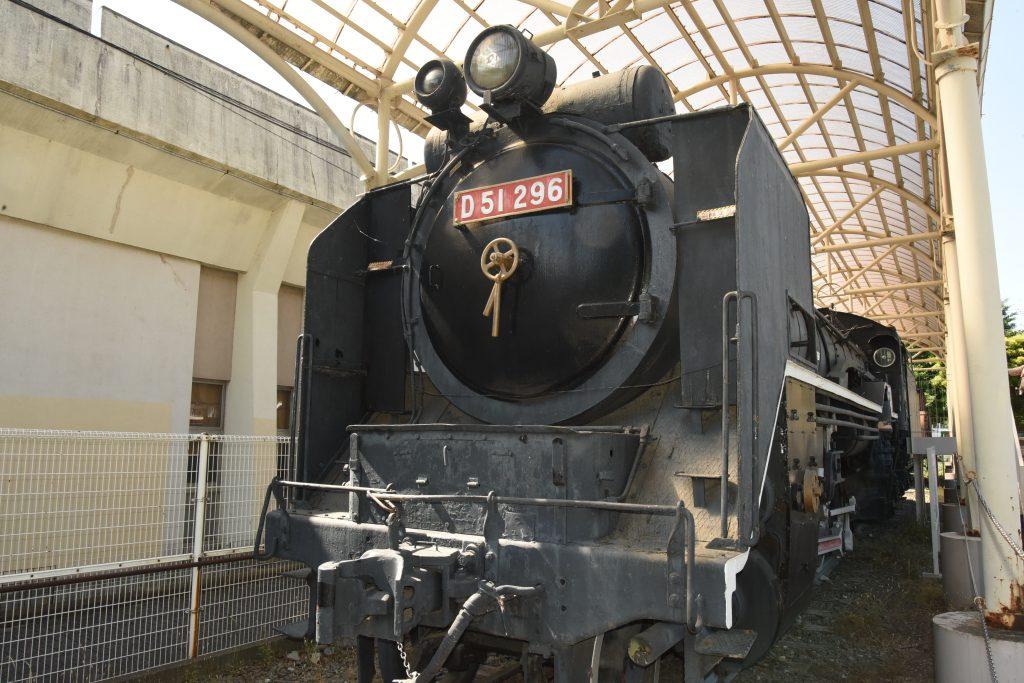 蒸気機関車D51-296/府中市郷土の森公園・交通遊園(東京都/府中市)