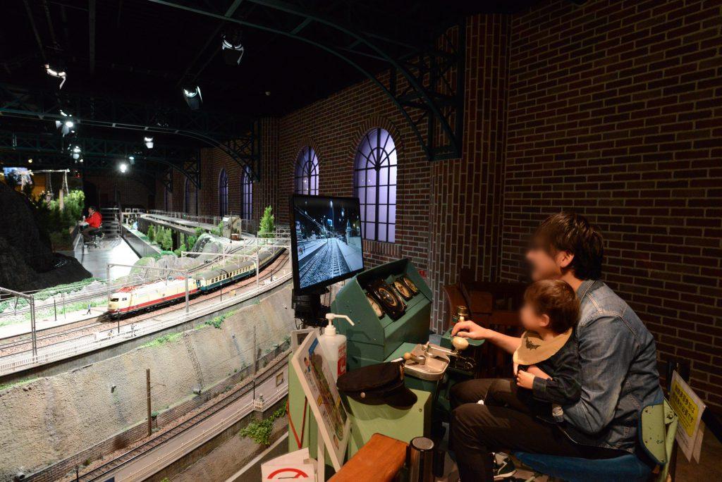 本物の運転台で鉄道模型の運転体験/原鉄道模型博物館(神奈川県/横浜市)