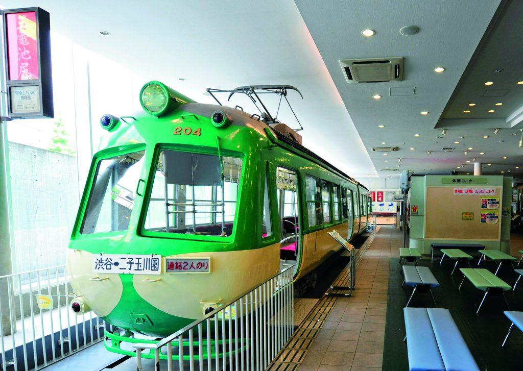 車両展示「東急デハ200形電車」/電車とバスの博物館(神奈川県/川崎市)
