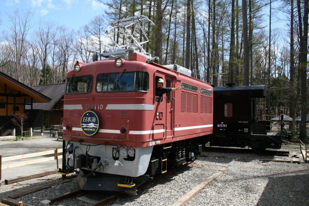 国鉄EF81形電気機関車/白馬ミニトレインパーク(長野県/白馬村)