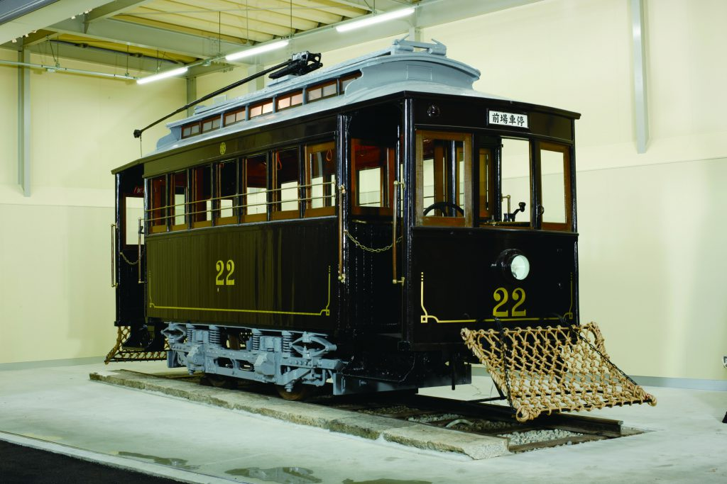 車両展示「名電1号形」/博物館明治村(愛知県/犬山市)