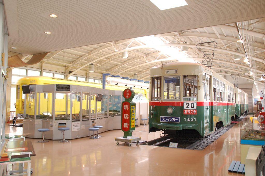 車両展示/名古屋市市電・地下鉄保存館 レトロでんしゃ館(愛知県/日進市)