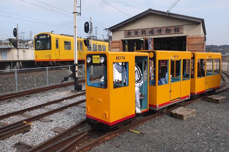 ミニ電ホクさんと軽便鉄道博物館/軽便鉄道博物館(三重県/いなべ市)