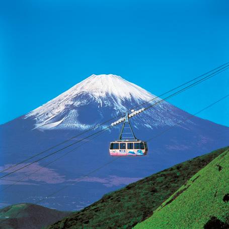 まるで空を飛んでいるような気分/箱根駒ヶ岳ロープウェー(神奈川県/箱根町)