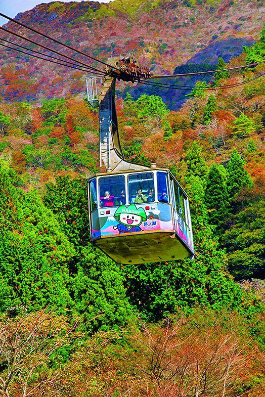 101人乗りのゴンドラで7分間の空中散歩が楽しめる/箱根 駒ヶ岳ロープウェー(神奈川県)