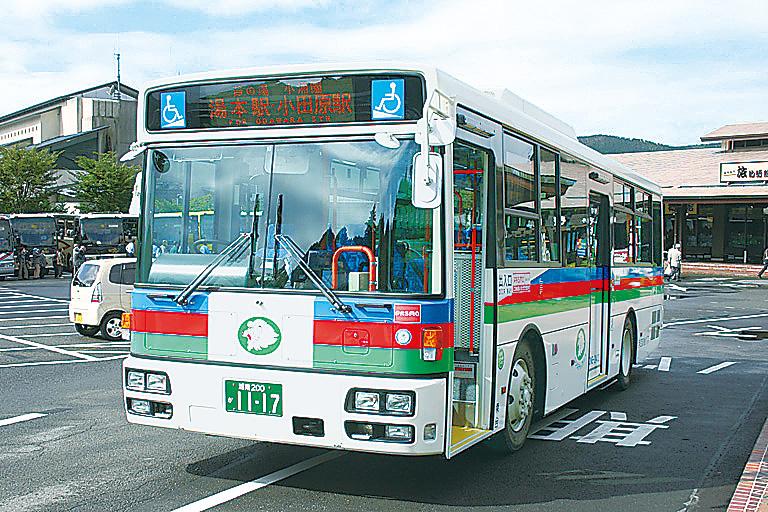 箱根バスフリーなら伊豆箱根バスが乗り放題になる(神奈川県/箱根町)